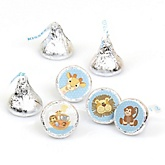 Noah's Ark - Party Favors Round Baby Shower Candy Labels - Fits Hershey's Kisses - 108 ct