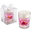 Orchid Tealight Holder - Baptism Favors