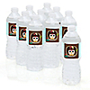 Owl - Look Whooo's Having A Baby - Personalized Baby Shower Water Bottle Label Favors