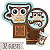 Owl - Look Whooo's Having A Birthday - Birthday Party 32 Big Dot Bundle
