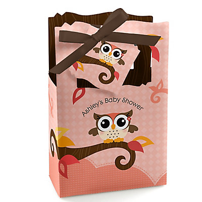Owl Girl - Look Whooos Having A Baby - Personalized Baby Sho...