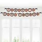 Owl Girl - Look Whooo's Having A Baby - Personalized Baby Shower Garland Letter Banners