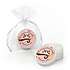 Owl Girl - Look Whooo's Having A Baby - Personalized Baby Shower Lip Balm Favors