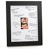Owl Girl - Look Whooo's Having A Baby - Personalized Baby Shower Print with Signature Mat