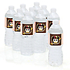 Owl Girl - Look Whooo's Having A Baby - Personalized Baby Shower Water Bottle Label Favors