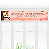 Owl Girl - Look Whooo's Having A Birthday - Personalized Birthday Party Banners