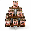 Owl Girl - Look Whooo's Having a Birthday - Birthday Party Candy Stand and 13 Candy Boxes