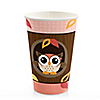 Owl Girl - Look Whooo's Having A Birthday - Birthday Party Hot/Cold Cups - 8 ct