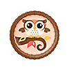 Owl Girl - Look Whooo's Having A Birthday - Birthday Party Dessert Plates - 8 ct