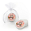 Owl Girl - Look Whooo's Having A Birthday - Personalized Birthday Party Lip Balm Favors