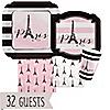 Paris, Ooh La La - Baby Shower 32 Big Dot Bundle