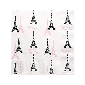 Paris, Ooh La La - Baby Shower Beverage Napkins - 16 ct