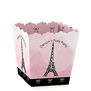 Paris, Ooh La La - Paris Themed - Personalized Baby Shower Candy Boxes