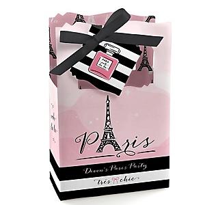 Paris, Ooh La La - Personalized Paris Themed Party Favor Boxes