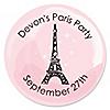 Paris, Ooh La La - Personalized Paris Themed Party Sticker Labels - 24 ct