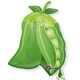 "18"" x 19"" Sweet Pea - Super Shaped Mylar Balloon"