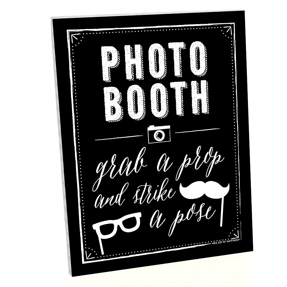 Baby Shower Photo Booth Prop Kits – Photo Booth Baby Announcement