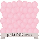 Pink - Baby Shower Balloon Kit - 100 Count