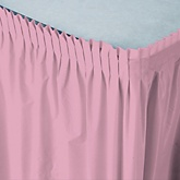 Pink - Baby Shower Table Skirt