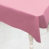 Pink - Baby Shower Plastic Table Cover