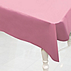 Pink - Birthday Party Plastic Tablecovers
