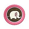 Pink Baby Elephant  - Baby Shower Dessert Plates - 8 ct