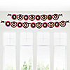 Pink Baby Elephant - Personalized Baby Shower Garland Letter Banners