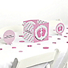 Baby Feet Pink - Baby Shower Table Decorating Kit