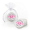 Baby Feet Pink - Personalized Baby Shower Lip Balm Favors