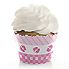 Baby Feet Pink - Baby Shower Cupcake Wrappers