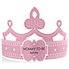 Pink - Mommy-To-Be-Tiara - Personalized Baby Shower Gift