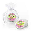 Pink Baby Turtle - Personalized Baby Shower Lip Balm Favors