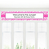 Pink Zebra - Personalized Birthday Party Banners