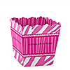 Pink Zebra - Personalized Birthday Party Candy Boxes