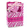 Pink Zebra - Personalized Birthday Party Favor Boxes