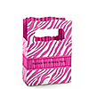 Pink Zebra - Personalized Birthday Party Mini Favor Boxes