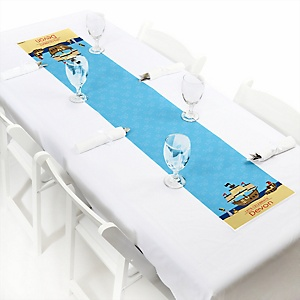It's A-Boy Mates! Pirate - Personalized Baby Shower Petite Table Runners