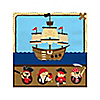 It's A-Boy Mates! Pirate - Baby Shower Beverage Napkins - 16 ct