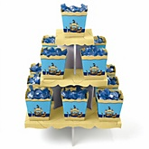 It's A-Boy Mates! Pirate - Baby Shower Candy Stand & 13 Fill Your Own Candy Boxes