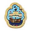 It's A-Boy Mates! Pirate - Baby Shower Dessert Plates - 8 ct