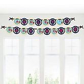 It's A-Boy Mates! Pirate - Personalized Baby Shower Garland Banner