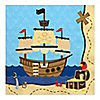 It's A-Boy Mates! Pirate - Baby Shower Luncheon Napkins - 16 ct