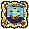 It's A-Boy Mates! Pirate - Baby Shower Dinner Plates - 8 ct