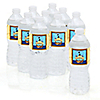 It's A-Boy Mates! Pirate - Personalized Baby Shower Water Bottle Label Favors