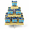Ahoy Mates! Pirate - Birthday Party Candy Stand and 13 Candy Boxes