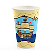 Ahoy Mates! Pirate - Birthday Party Hot/Cold Cups - 8 ct
