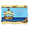 Ahoy Mates! Pirate - Personalized Birthday Party Invitations