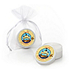 Ahoy Mates! Pirate - Personalized Birthday Party Lip Balm Favors