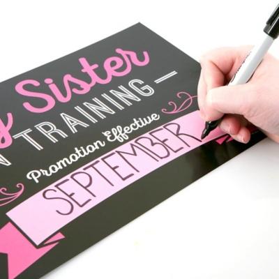 Pregnancy Announcement - 10 Piece Photo Props Kit
