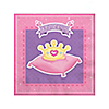 Pretty Princess - Baby Shower Beverage Napkins - 16 ct
